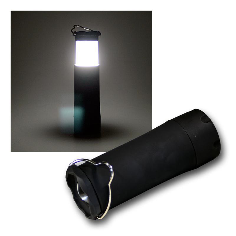 outdoor lampe mit highpower led gummiert. Black Bedroom Furniture Sets. Home Design Ideas