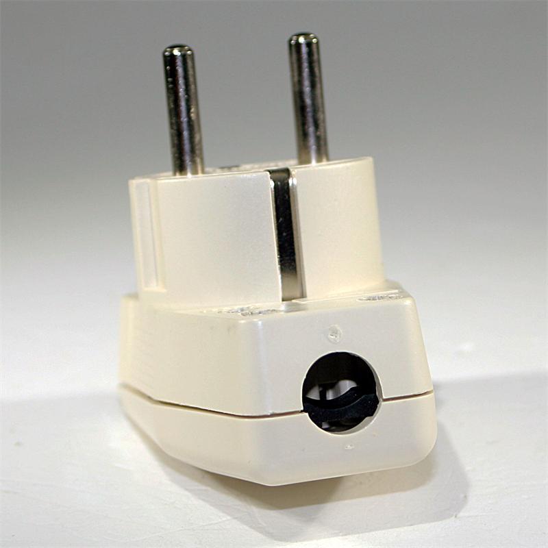 schuko winkelstecker mit schalter 230v 16a wei. Black Bedroom Furniture Sets. Home Design Ideas
