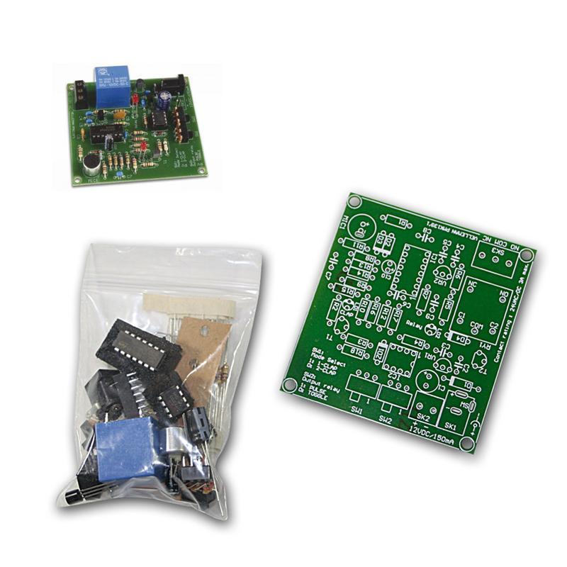 Bausatz, Mini-Geräuschschalter / Klatsch-Schalter