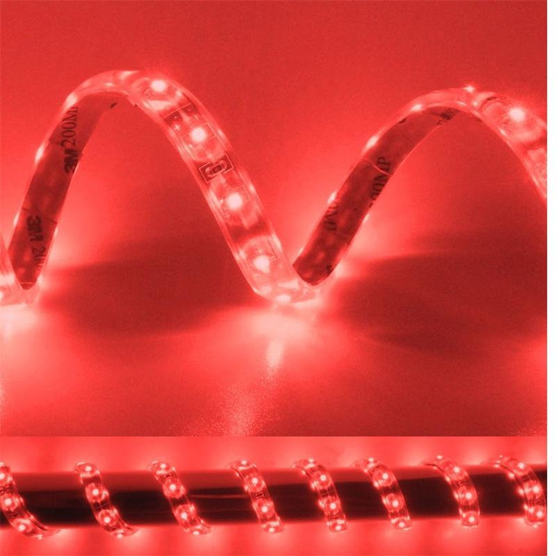 5m Flex SMD Stripe LED IP65 rot 12V / PCB-braun