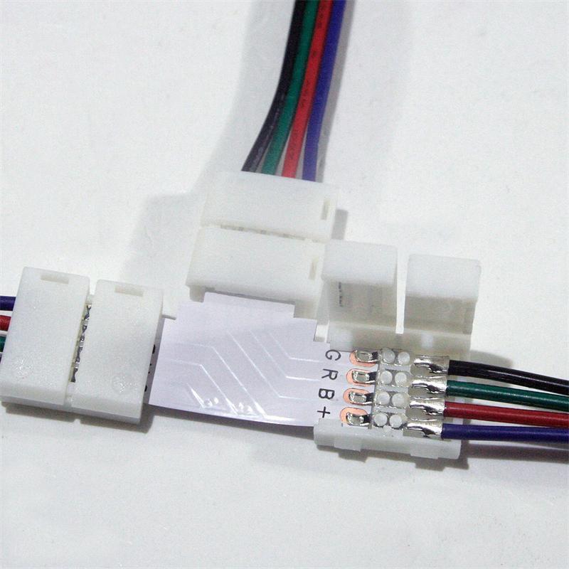 schnellanschluss t kabel easy f r rgb smd stripe. Black Bedroom Furniture Sets. Home Design Ideas