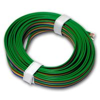 5m copper braid 4-wire 0.14mm² ideal for RGB