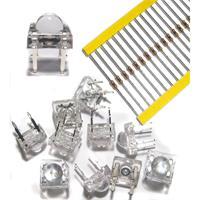 Piranha-LED mit breit abstrahlenden Öffnungswinkel