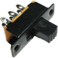 Miniatur Schiebeschalter - 2-pol 0,5A