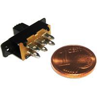 Miniaturschalter mit einer Schaltleistung von maximal 125V/0,5A