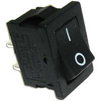 Wippschalter für Snap-In Montage als Ein/Aus-Schalter