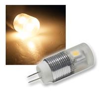 G4 LED-Leuchtmittel 4x 3-Chip SMD LEDs warmweiß