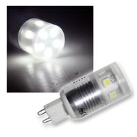 LED-Leuchtmittel G9 11x 3Chip SMD LEDs pur-weiß