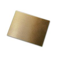 Euro circuit board 75x100 mm, copper coated