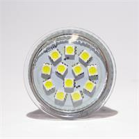 LED Spotleuchte MR16 mit 12 modernen 5050 3-Chip SMD LEDs für superhelles Licht