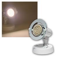 Top P Spot weiß, 1-flg E14, warmweiß, 60 LEDs
