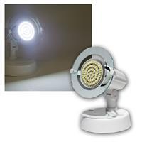 Top P Spot weiß, 1-flg E14, kalt-weiß, 60 LEDs