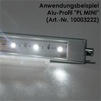 Kunststoff-Endkappe für Aluminium-Profile