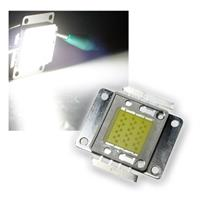 LED Chip 30W Highpower kalt-weiß SQUARE