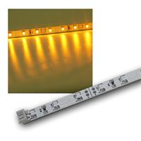 SMD LED light strip, yellow, 12V/DC, 48cm