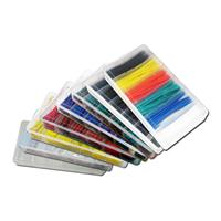 Shrink tubing set, 100 pieces | different colours | in box