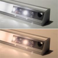 Lichtleisten-Sets in zwei Leuchtfarben erhältlich