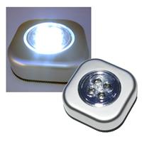 "LED touch light with 4 LED's ""CTK4"" silver"
