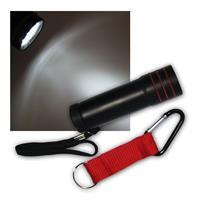 LED Taschenlampe mit 9 LEDs im Etui mit Zubehör
