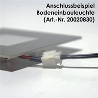 Anschlusskabel schwarz/weiß für LED Einbauleuchten