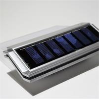 LED Solar Hausnummernbeleuchtung IP44 mit eingebauten Dämmerungssensor