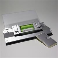 LED Solarbeleuchtung Hausnummer mit 2 AA Mignon-Akkus 900mAh