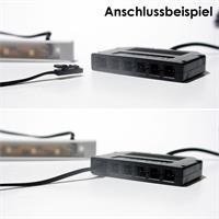 LED Leuchtleiste für trockene Innenräume mit Mini-Steckverbinder