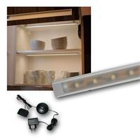 """Set LED Lichtleiste 2 x """"WTN-Flat 50cm"""" warmweiß"""