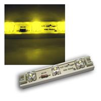 1m LED Strip 7 SuperFlux LED Module flex 12v GELB