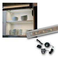 "Set LED Lichtleiste 2 x ""WTN-Flat 50cm"" kalt-weiß"