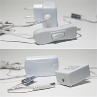 RGB LED Lichtband mit doppelseitigen Klebenband und IR Fernbedienung