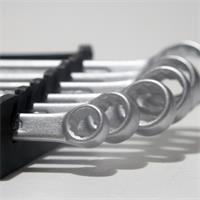 Ringmaulschlüssel in den gängigen Größen von 8mm bis 17mm