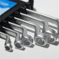Maulschlüssel in den gängigen Größen von 6mm bis 17mm