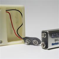 Testgerät für LEDs mit 9V Batterie Stromversorgung