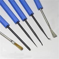 Reinigungsbesteck für Metallteile und Kunststoff