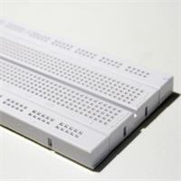 hochwertige weiße Kunststoffplatine für Hobby und Beruf