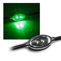 10er LED Modulkette, je 2 SMDs grün, 12V DC, 100mA