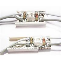 LED Lichtkette aus Kunststoff mit 20 einzelnen SuperFlux LED Modulen
