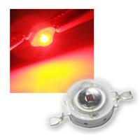 "Highpower LED 3W rot, Typ ""WTN-3W-80r"" 3 Watt"