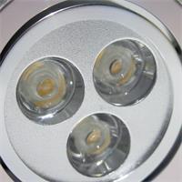 LED Einbaustrahler schwenkbar mit ca: 70mm Einbau-Ø und 45mm Einbau-Tiefe