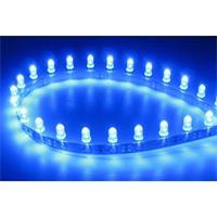 flexiblen Leiterbahn mit 30 blau leuchtenden LEDs