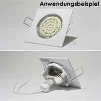 Befestigung eines MR16 Leuchtmittels via Sprengring