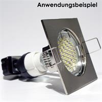 Befestigung der Leuchtmittel via Sprengring