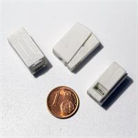 lösbare Verbindungsklemmen für abisolierte Leiter, separate Prüföffnung