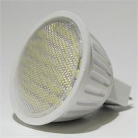 LED MR16 Strahler in Halogenoptik mit 60 lichtstarken 3528 SMD LEDs