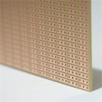 Platine für beliebig elektronische Schaltungen, Lötpunkte nicht verbunden