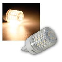 LED-Stiftsockellampe G9 mit 48 SMD LEDs warm-weiß