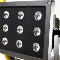 LED Aussenleuchte mit 9 neutralweiß 2,5W HighPower LEDs