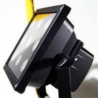 LED Highpowerstrahler mit Metallrahmen, Ständer und Tragegriff