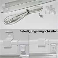 Kalt- oder warmweiße LED Unterbauleuchten